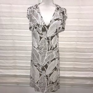 🌴Tommy Bahama Cool Batik S/S V Neck Dress M